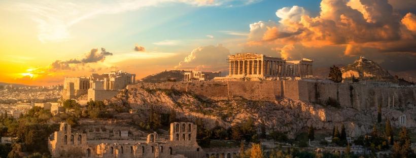 Sur les pas anciens d'Athènes...