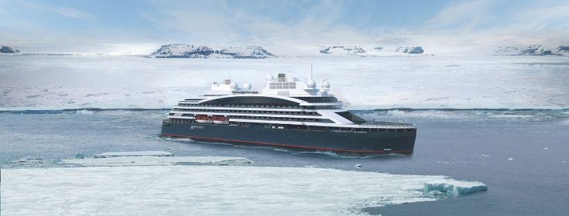 Croisières Ponant en Arctique : la reprise du Commandant Charcot en 2022