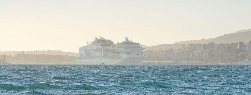 Croisière sur la mer méditerranée à bord du MSC Seaside