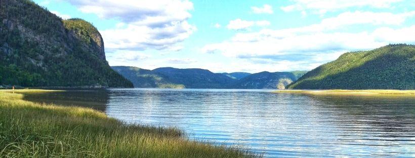 Le Fjord de Saguenay au Canada