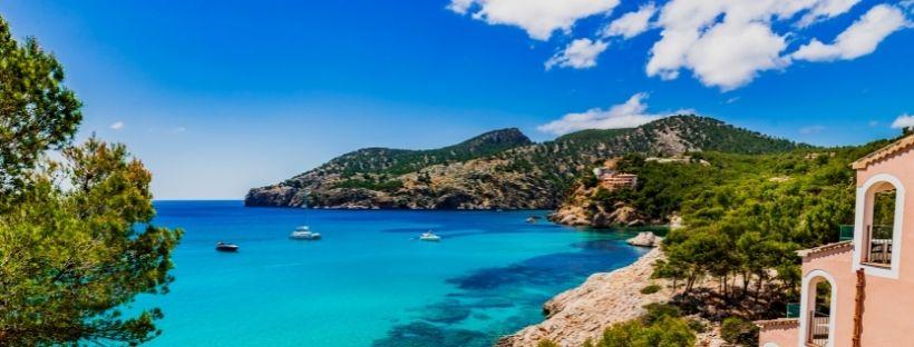 Belle vue sur la Méditerranée