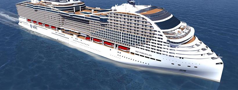 Le nouveau bateau MSC World Europa