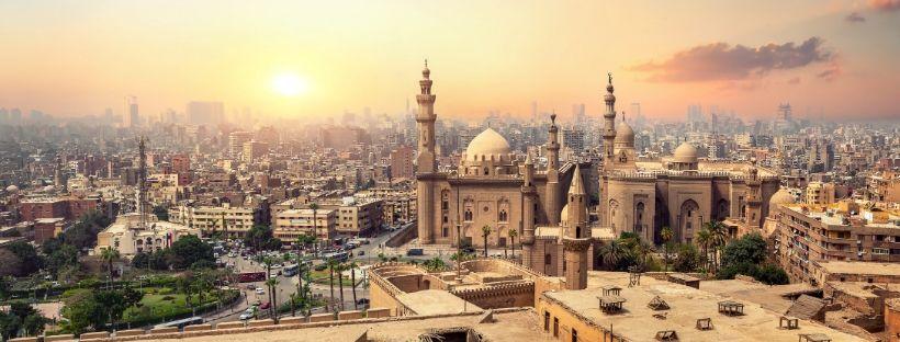 Vue aérienne du Caire