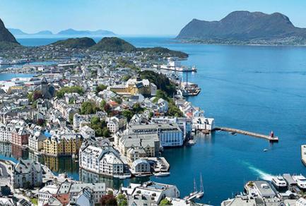 Ålesund (Norvège) - Norvège