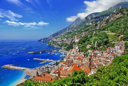 Baie d'Amalfi (Italie) - Italie