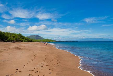Espumilla Beach, l'île de Santiago - Équateur