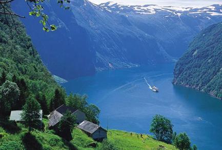 Geiranger (Norvège) - Norvège