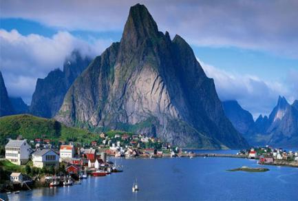 Gudvangen - Norvège