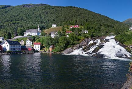 Hellesylt/Geiranger (Norvège) - Norvège
