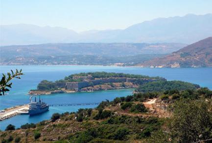 La baie de Souda, Grèce - Grèce