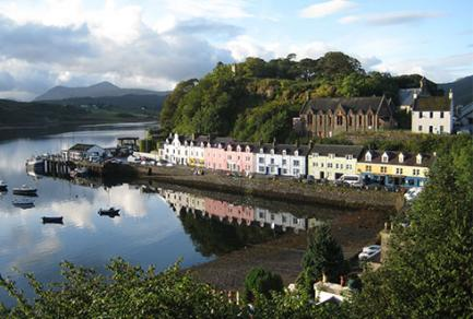 Portree, Isle of Skye - Royaume-Uni