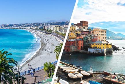 Nice > Gênes en autocar - Italie