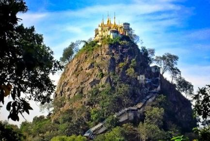 Mont Popa, Myanmar - Birmanie