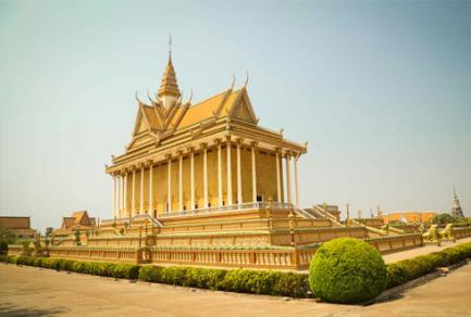 Oudong - Cambodge