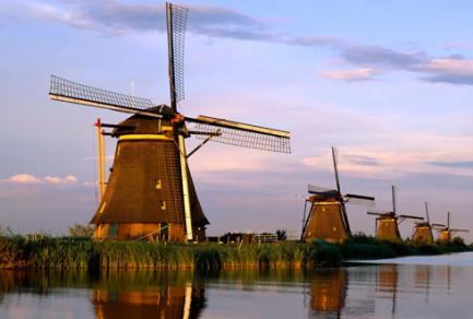 Kinderdijk - Pays-Bas
