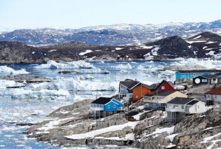 Ililussat, Groenland - Groenland
