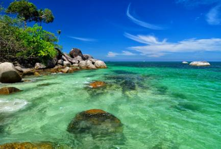 Belitung Islands (Indonesie) -