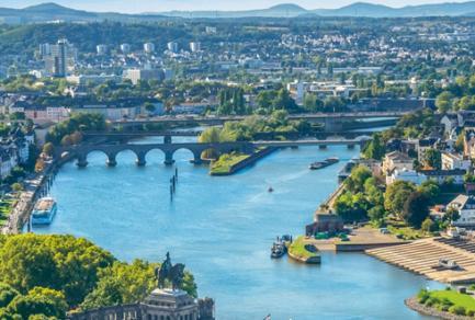 Dusseldorf - Cologne - Koenigswinter - Coblence -