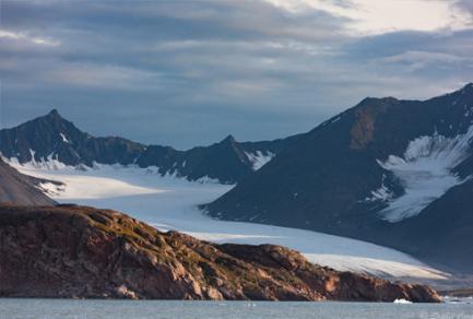 Kongsfjorden (Baie du roi), Spitzberg (Norvège) - Norvège