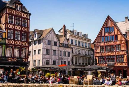 Honfleur - Duclair - Rouen -