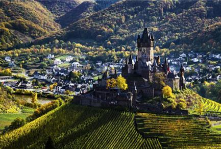 Francfort - Cochem (la Moselle) - 56812