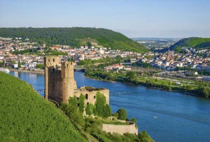 Coblence - Rüdesheim (la Moselle et le Rhin) -