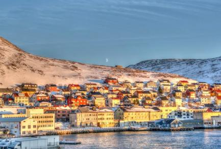 Honningsvag (Norvège) -
