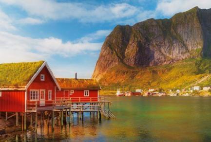Gravdal - Iles Lofoten (Norvège) -