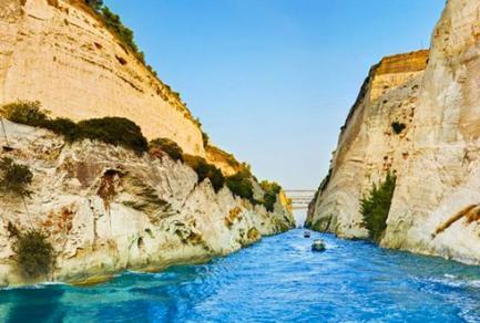 Canal de Corinthe -