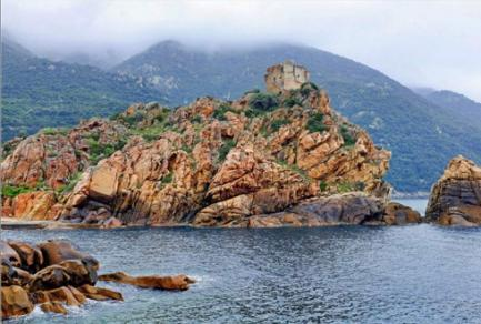 Baie d'Acciolu - Revellata - Palo -