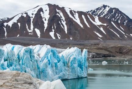 Glacier du 14 Juillet, Spitzberg (Norvège) - Norvège