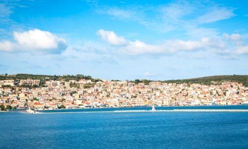 paysage d'Argostoli en Grèce