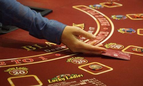 Casino à bord d'un paquebot de croisière