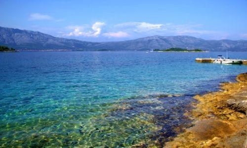 paysage de la mer Adriatique