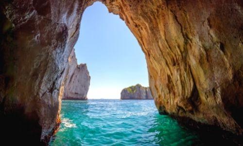 Grotte Bleue à Capri en Italie