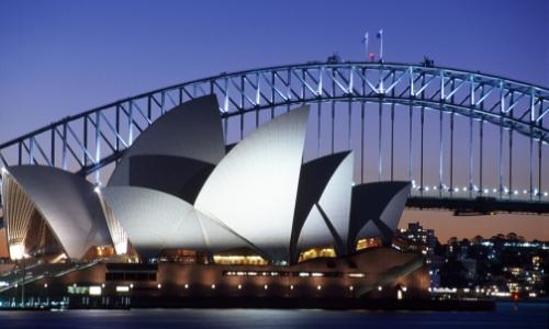 Vue sur l'Opéra de Sydney