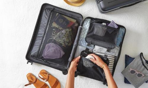 Préparation de la valise