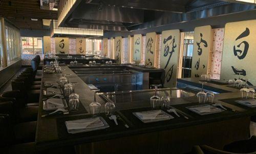 Le restaurant de spécialités Teppaniyaki