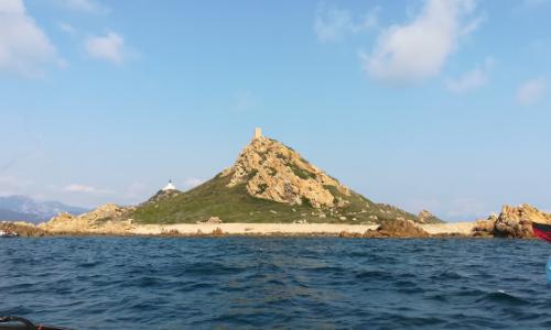 La tour carrée des îles Sanguinaires