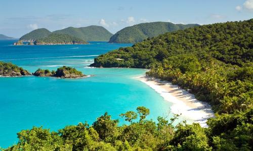 Un paysage des Caraîbes