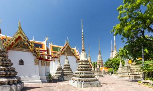 Temples en Thaïlande