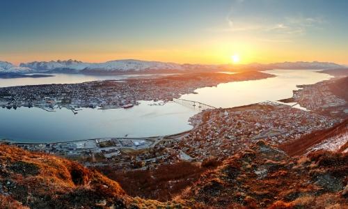 Tromso, ville et port