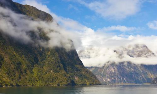Fjords en Nouvelle-Zélande