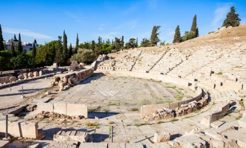 Intérieur du Théâtre de Dionysos