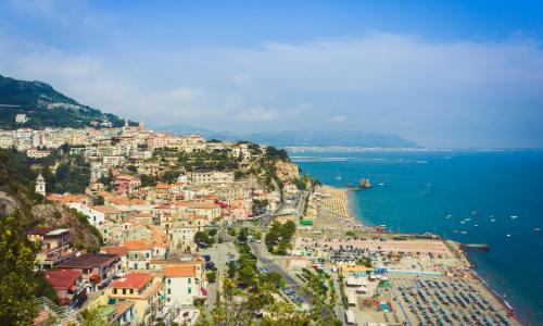 Salerne et la côte Amalfienne