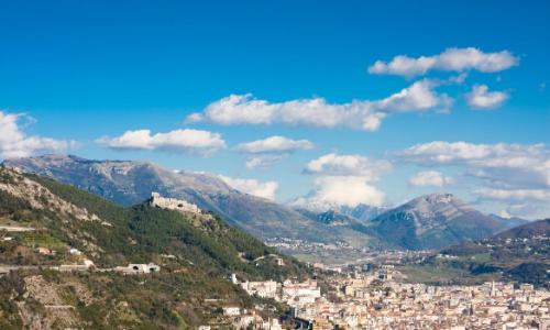 Salerne et ses montagnes