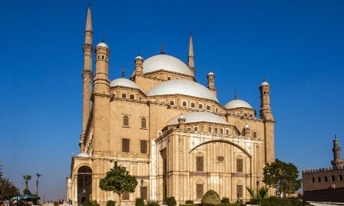 Vue sur la citadelle de Saladin
