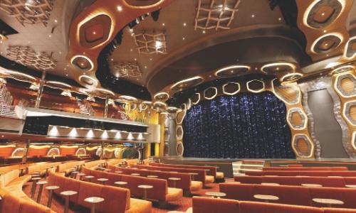Photo salle de spectacle où se déroule The Voice