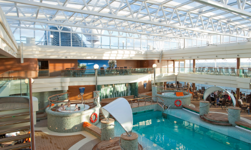 La piscine MSC