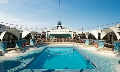 La piscine à bord du MSC Orchestra
